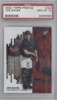 Joe Mauer [PSA 10 GEM MT] #/1,999