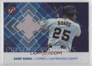 2002 Topps Pristine - Pristine Portions #PP-BBO - Barry Bonds /2400