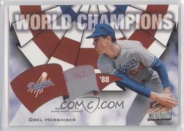 2002 Topps Stadium Club - World Champions Relics #WC-OH - Orel Hershiser
