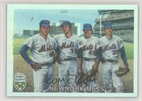 Tom Seaver, Jerry Koosman, Tug McGraw, Nolan Ryan #/1,969