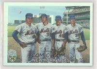 Tom Seaver, Jerry Koosman, Tug McGraw, Nolan Ryan /1969