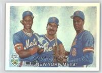 Darryl Strawberry, Dwight Gooden, Keith Hernandez /1986