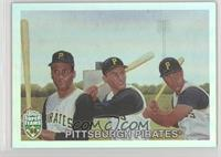 Roberto Clemente, Dick Groat, Bill Mazeroski /1960
