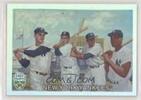 Roger Maris, Yogi Berra, Elston Howard, Moose Skowron #/1,961