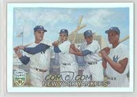 Roger Maris, Yogi Berra, Elston Howard, Moose Skowron /1961