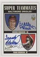 Brooks Robinson, Frank Robinson /50