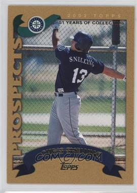 2002 Topps Traded - [Base] - Gold #T225 - Chris Snelling /2002