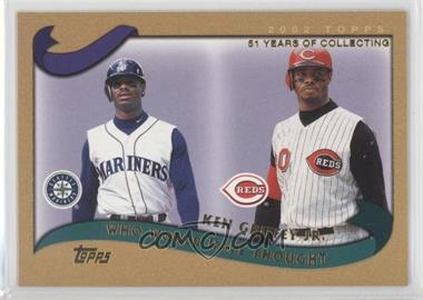 2002 Topps Traded - [Base] - Gold #T274 - Ken Griffey Jr. /2002