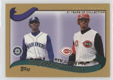 2002 Topps Traded - [Base] - Gold #T274 - Ken Griffey Jr. /2002