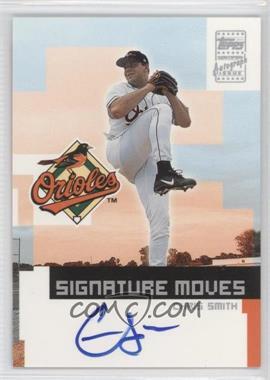 2002 Topps Traded - Signature Moves #TA-CS - Chris Smith