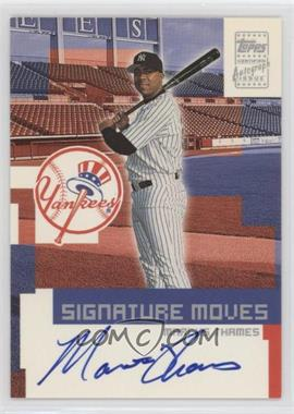 2002 Topps Traded - Signature Moves #TA-MT - Marcus Thames
