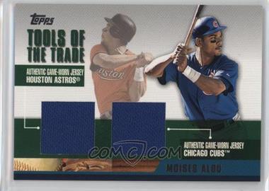 2002 Topps Traded - Tools of the Trade - Dual Relics #DTRR-MA - Moises Alou