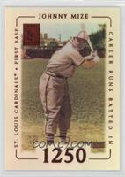 Johnny Mize #/53