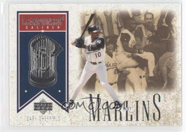 2002 Upper Deck - Championship Caliber #CC4 - Gary Sheffield