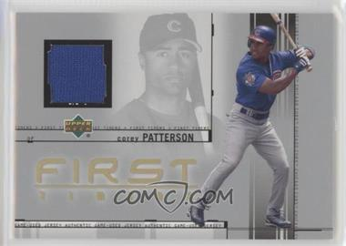 2002 Upper Deck - First Timers Jerseys #FT-CP - Corey Patterson