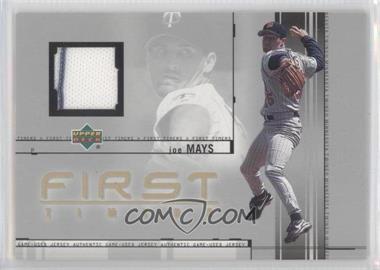 2002 Upper Deck - First Timers Jerseys #FT-JM - Joe Mays