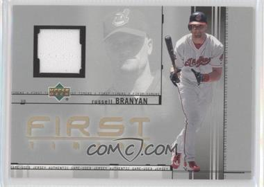 2002 Upper Deck - First Timers Jerseys #FT-RB - Russell Branyan