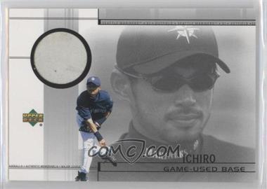 2002 Upper Deck - Game-Used Base #B-IS - Ichiro Suzuki
