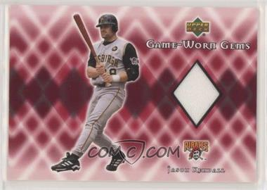 2002 Upper Deck - Game-Worn Gems #G-JK - Jason Kendall [EX to NM]