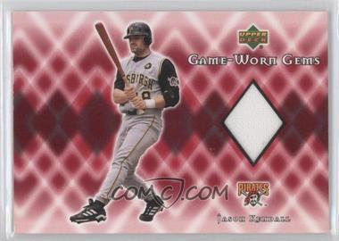 2002 Upper Deck - Game-Worn Gems #G-JK - Jason Kendall