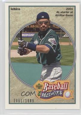 2002 Upper Deck Authentics - Baseball Heroes #HB-I5 - Ichiro Suzuki /1989