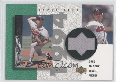 2002 Upper Deck Authentics - Retro UD Jerseys - Non-Numbered #R-GM - Greg Maddux