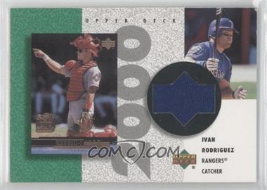 2002 Upper Deck Authentics - Retro UD Jerseys - Non-Numbered #R-IR - Ivan Rodriguez