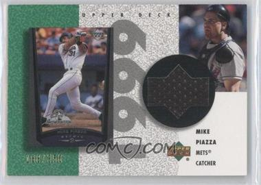 2002 Upper Deck Authentics - Retro UD Jerseys #R-MP - Mike Piazza /350