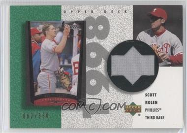 2002 Upper Deck Authentics - Retro UD Jerseys #R-SR - Scott Rolen /350