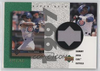 2002 Upper Deck Authentics - Retro UD Jerseys #R-SS - Sammy Sosa /350