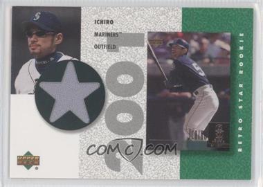 2002 Upper Deck Authentics - Retro UD Star Rookies Jerseys #SR-I - Ichiro Suzuki