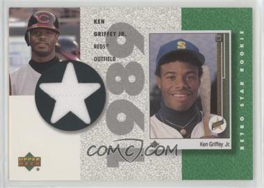 e474958efa 2002 Upper Deck Authentics - Retro UD Star Rookies Jerseys #SR-KG - Ken  Griffey Jr.