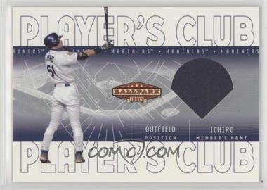 2002 Upper Deck Ballpark Idols - Player's Club Jerseys #PC-IS - Ichiro