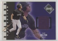 Diamond Collection Jerseys - Todd Helton #/775