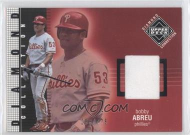 2002 Upper Deck Diamond Connection - [Base] #538 - Bobby Abreu /775