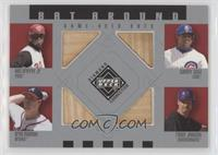 Ken Griffey Jr., Sammy Sosa, Greg Maddux, Randy Johnson
