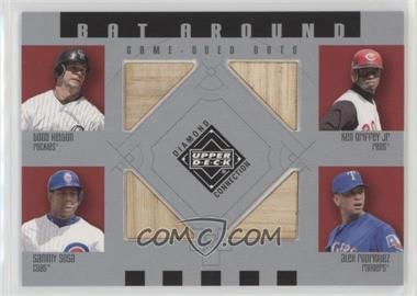 2002 Upper Deck Diamond Connection - Bat Around #BA-HGSR - Todd Helton, Ken Griffey Jr., Sammy Sosa, Alex Rodriguez