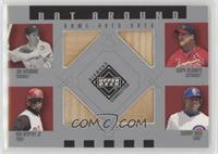 Joe DiMaggio, Mark McGwire, Ken Griffey Jr., Sammy Sosa