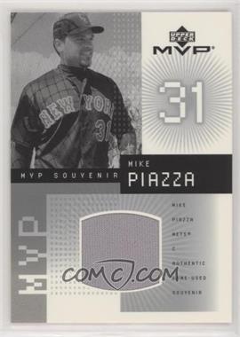 2002 Upper Deck MVP - Souvenir Jerseys #J-MP - Mike Piazza