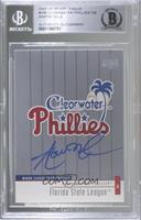 Clearwater Phillies [BGS Authentic]