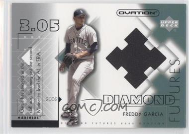2002 Upper Deck Ovation - Diamond Futures Jerseys #DF-FG - Freddy Garcia