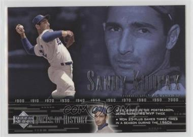 2002 Upper Deck Piece Of History - [Base] #65 - Sandy Koufax