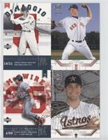 Joe DiMaggio, Jon Lester, Mark McGwire, Mark McLemore #/600