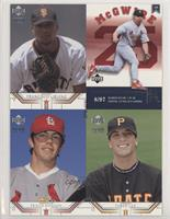 Francisco Liriano, Taber Lee, Mark McGwire, Travis Hanson [Good to VG…