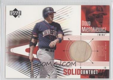 2002 Upper Deck Rookie Debut - Solid Contact #SC-DM - Doug Mientkiewicz