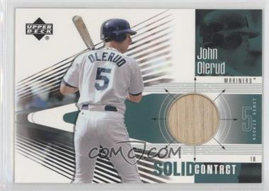 2002 Upper Deck Rookie Debut - Solid Contact #SC-JO - John Olerud
