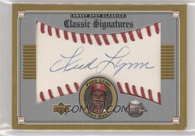 2002 Upper Deck Sweet Spot Classics - Classic Signatures #S-FL - Fred Lynn [EXtoNM]