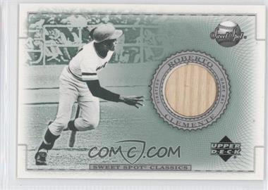 2002 Upper Deck Sweet Spot Classics - Game-Used Bats #B-RC - Roberto Clemente