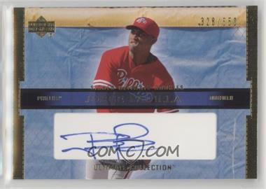 2002 Upper Deck Ultimate Collection - [Base] #114 - Jorge Padilla /550