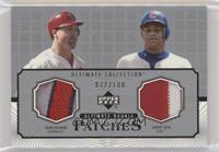 Mark McGwire, Sammy Sosa #/100